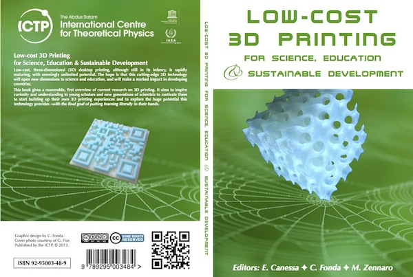 Low-Cost 3D printing: Free Book from ICTP, Trieste, Italy | A girl with a 3D printer