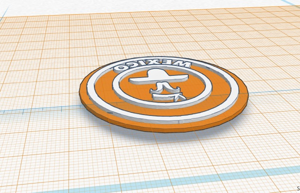 3D design Copy of Messico | Tinkercad 2014 08 01 10 48 15 2014 08 01 10 48 45